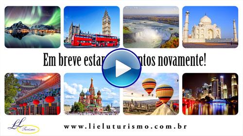 Capa do Vídeo Em Breve Estaremos Juntos com a Lielu Turismo