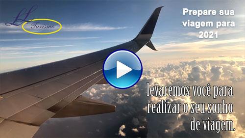 Capa do Vídeo Prepare Sua Viagem 2021 com a Lielu Turismo
