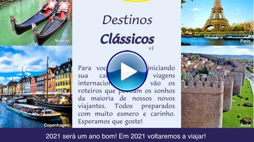 Catálogo Destinos Clássicos - Lielu Turismo com play