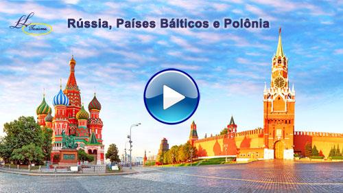 Vídeo da Rússia, Países Bálticos e Polônia com a Lielu Turismo!