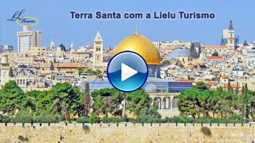 Vídeo da Terra Santa com a Lielu Turismo!