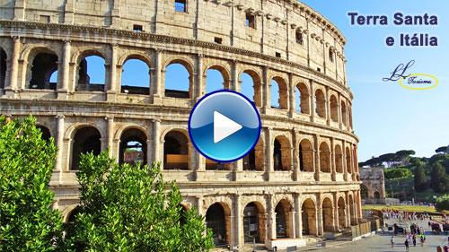 Vídeo da Terra Santa e Itália com a Lielu Turismo!