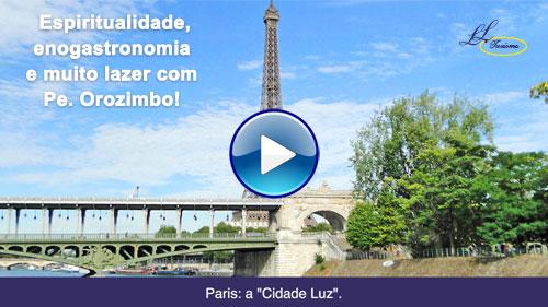Capa do Vídeo Espiritualidade, Enogastronomia e muito Lazer com a Lielu Turismo