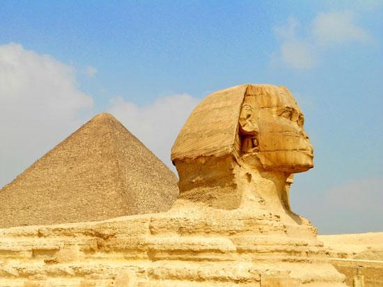 Cairo - Gizé - Esfinge e Pirâmide