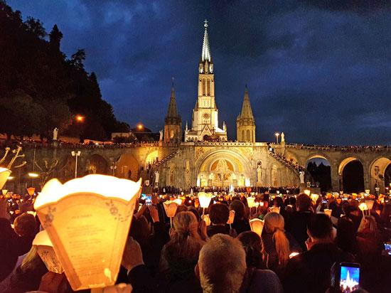 França - Lourdes - Procissão das Velas