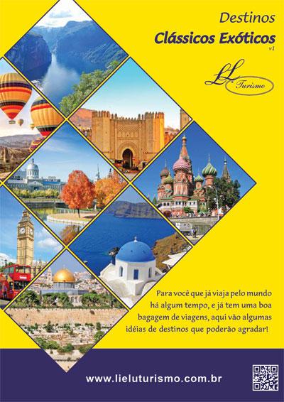 Catálogo Destinos Clássicos Exóticos - Lielu Turismo