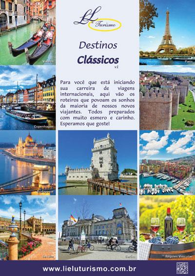 Catálogo Destinos Clássicos - Lielu Turismo