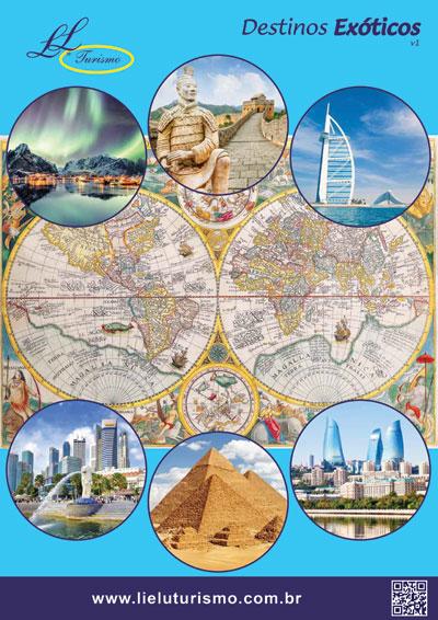 Catálogo Destinos Exóticos - Lielu Turismo