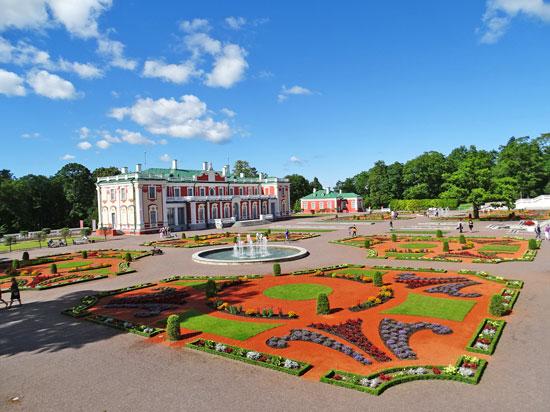 Estônia - Tallin - Parque e Palácio Kadriorg