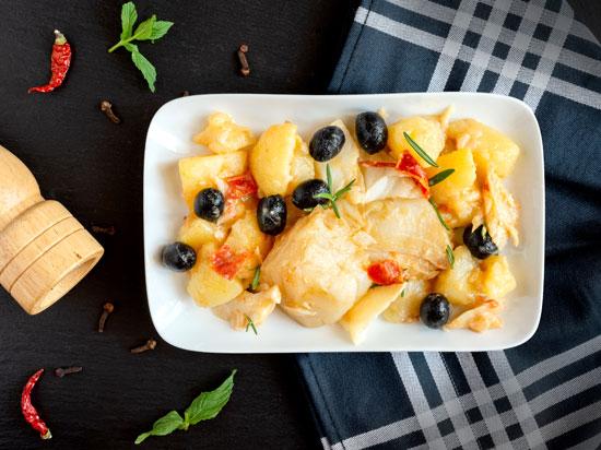 Portugal - Culinária - O famoso Bacalhau