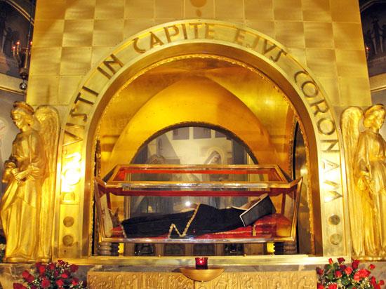 Itália - Cássia - Basílica com o corpo de Santa Rita de Cássia