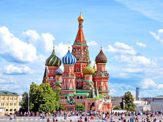 Rússia - Moscou - Catedral de São Basílio