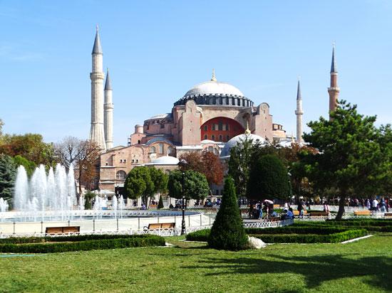 Turquia - Istambul - Mesquita Aya Sophia