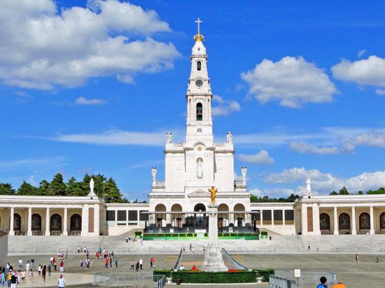 Portugal - Fátima - Santuário de Nossa Senhora de Fátima