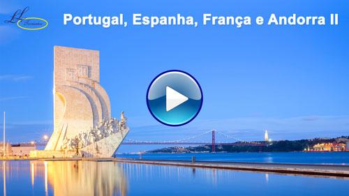 Vídeo da viagem Portugal, Espanha, França e Andorra II com a Lielu Turismo!