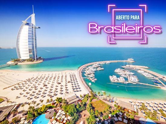 Emirados Árabes - Dubai aberto para Brasileiros