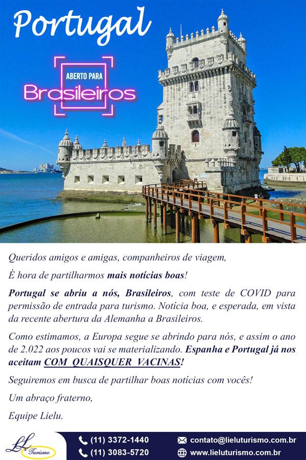 Portugal - Fronteiras Abertas